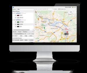 GPS Fahrzeugüberwachung einfach zu bedienen